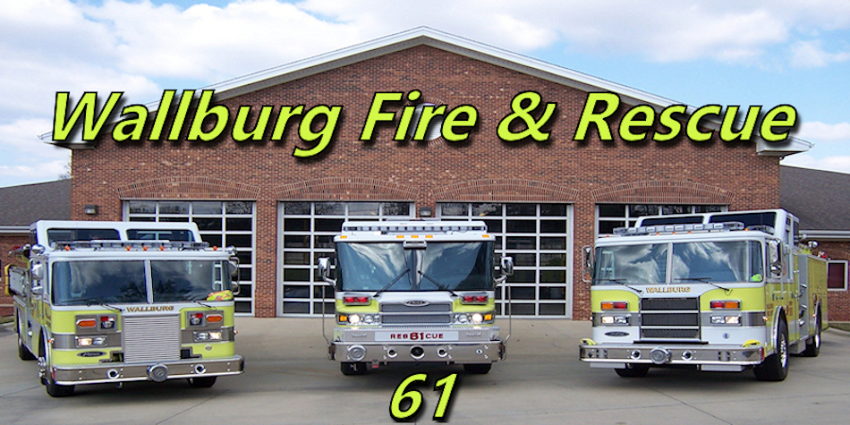 Wallburg Fire & Rescue Logo