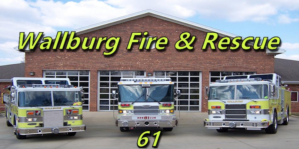 Wallburg Fire & Rescue Logo